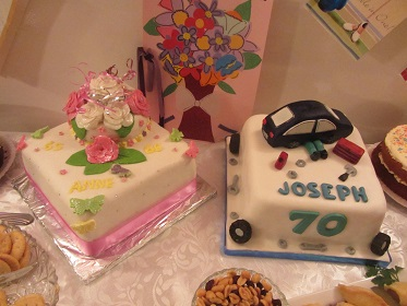 Joe and Anne's cakes