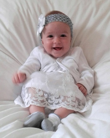 Jessie Mila Squibb at her Christening