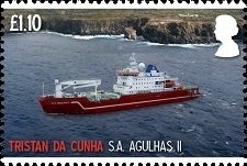 Maiden Voyage of SA Agulhas II: £1.10 - Agulhas II