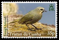 Tristan's Endemic Finches, 35p stamp