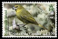 Tristan's Endemic Finches, £1.50p stamp