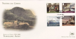 Augustus Earle: First day cover