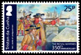 350th Anniversary of the Royal Marines, 25p stamp