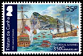 350th Anniversary of the Royal Marines, 35p stamp