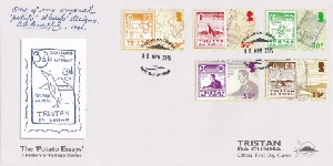 The 'Potato Essays' petition for postage stamps: First day cover