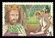Magna Carta, King John, 35p stamp