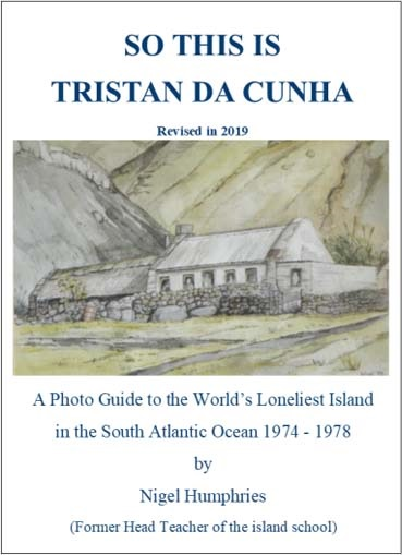 Book cover: Nigel Humphries 'So This is Tristan da Cunha'