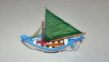 Model longboat