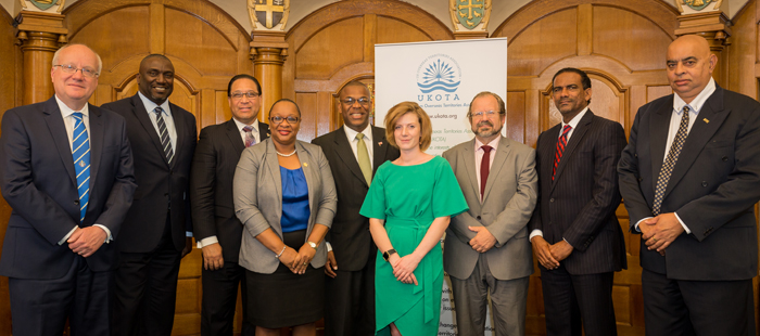 Heads of delegation for the UK Overseas Territories.