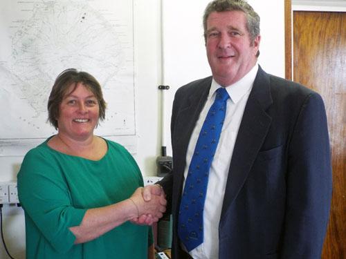 Tristan Da Cunha Government News Lorraine Repetto Sworn