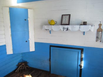 The kitchen in the Thatched House Museum
