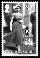 Her Majesty Queen Elizabeth II: 90 Years of Style, 35p stamp