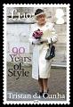 Her Majesty Queen Elizabeth II: 90 Years of Style, £1.10 stamp