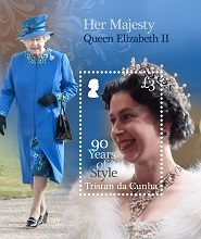Her Majesty Queen Elizabeth II: 90 Years of Style, £3.00 sheetlet