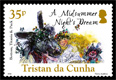 400th Anniversary of the Death of William Shakespeare, £0.35 - A Midsummer Night's Dream