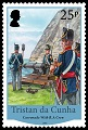 Bicentenary of the British Garrison 1816 - 2016, 25p stamp