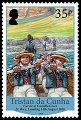 Bicentenary of the British Garrison 1816 - 2016, 35p stamp