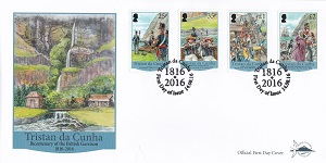 Bicentenary of the British Garrison 1816 - 2016, First Day Cover