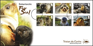 Fur Seals: First day cover