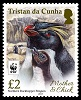 Northern Rockhopper Penguin, £2.00 stamp
