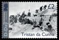 75th anniversary of D-Day, £2.00, Troops of US VII Corps on Uncle Red beach