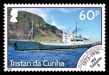 Modern Mail Ships Definitives, 60p - Tristania II