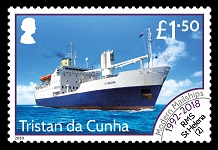 Modern Mail Ships Definitives, £1.50 - RMS St Helena (2)