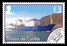 Modern Mail Ships Definitives, £3.00 - MFV Geo Searcher