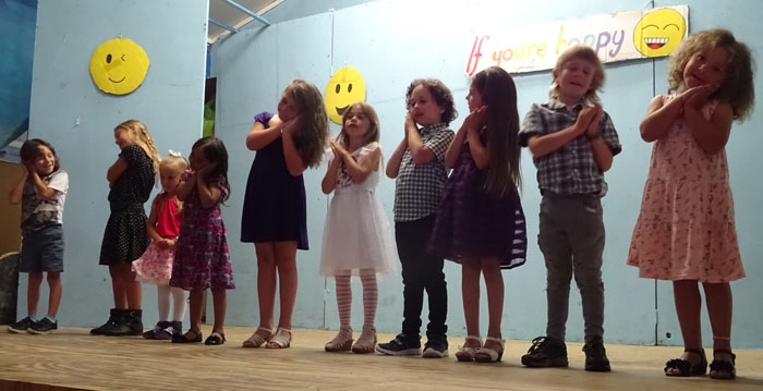 Song by Playgroup and Classes 1 & 2