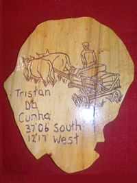 Small 'Bullock Cart' plaque.